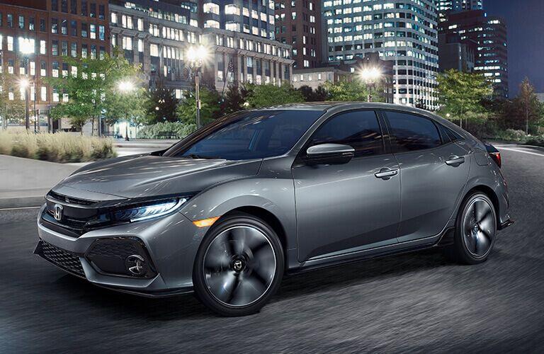 Compare the 2018 Civic Hatchback Trim