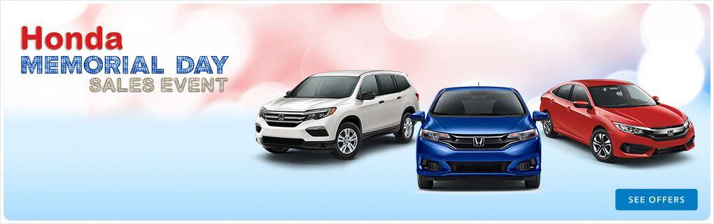 Honda Memorial Day Sales Event near Jackson MS