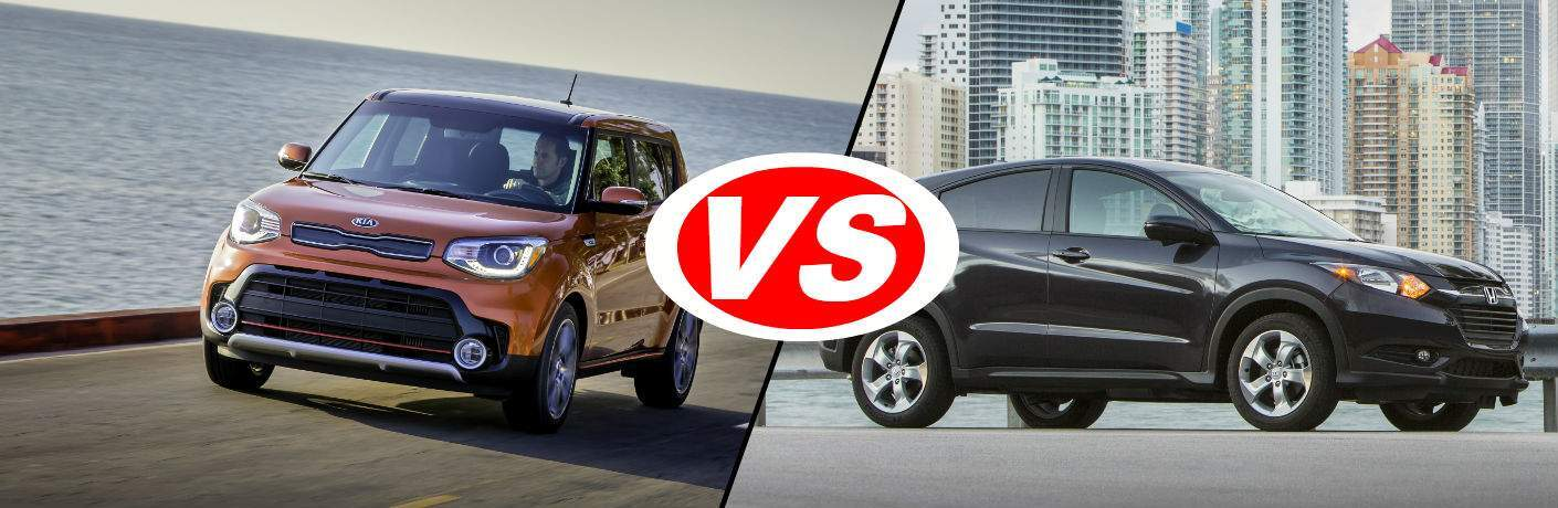 2018 Kia Soul Vs 2018 Honda HR-V Old Saybrook, CT