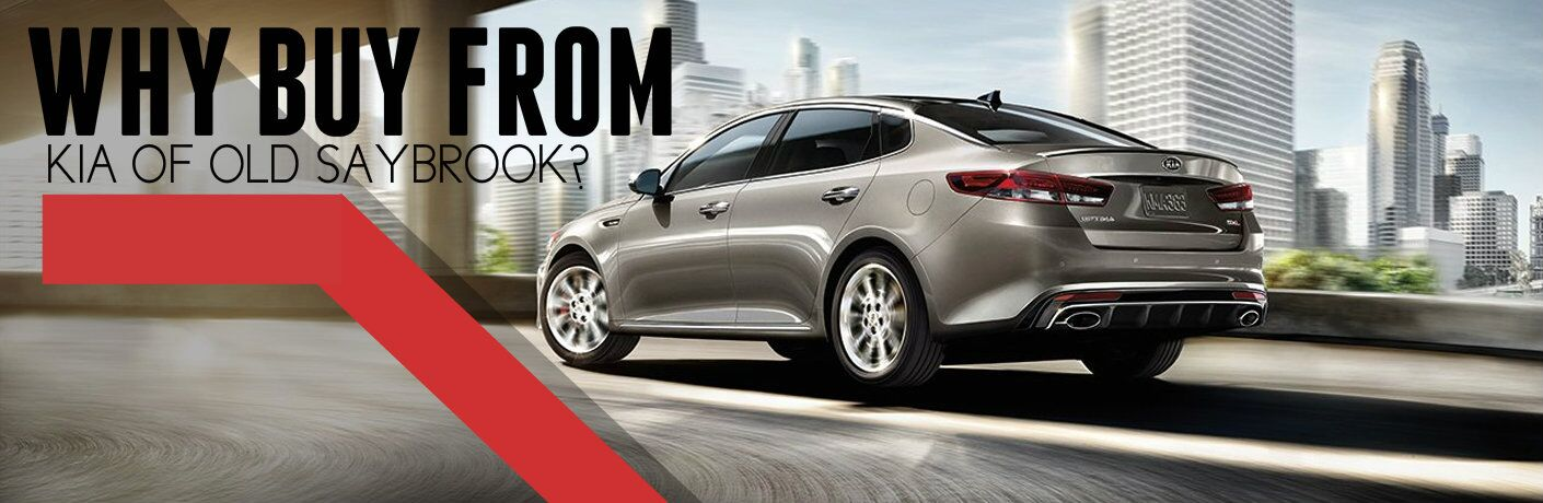 Why Buy From Kia of Old Saybrook?