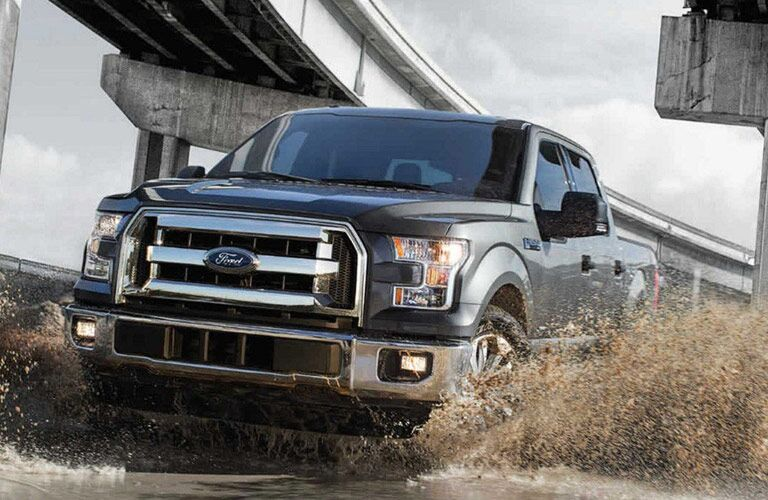 Portal Image of a gray 2017 Ford F-150