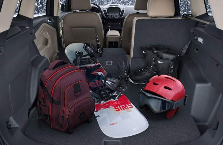 2017 Ford Escape cargo capacity
