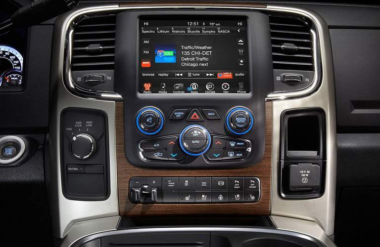 2017 ram 3500 uconnect touchscreen bluetooth audio wireless