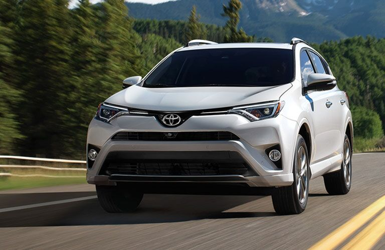 Portal Image of a white 2017 Toyota RAV4