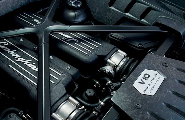 Lamborghini Huracan Coupe V10 engine