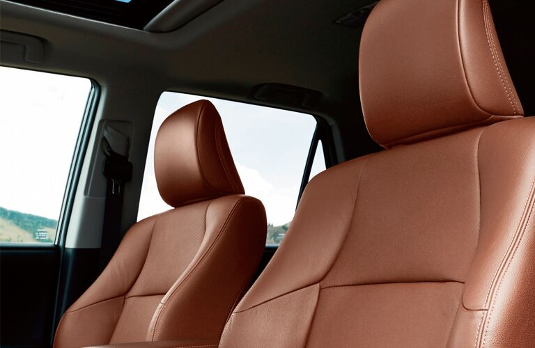 front seats of 2019 4runner