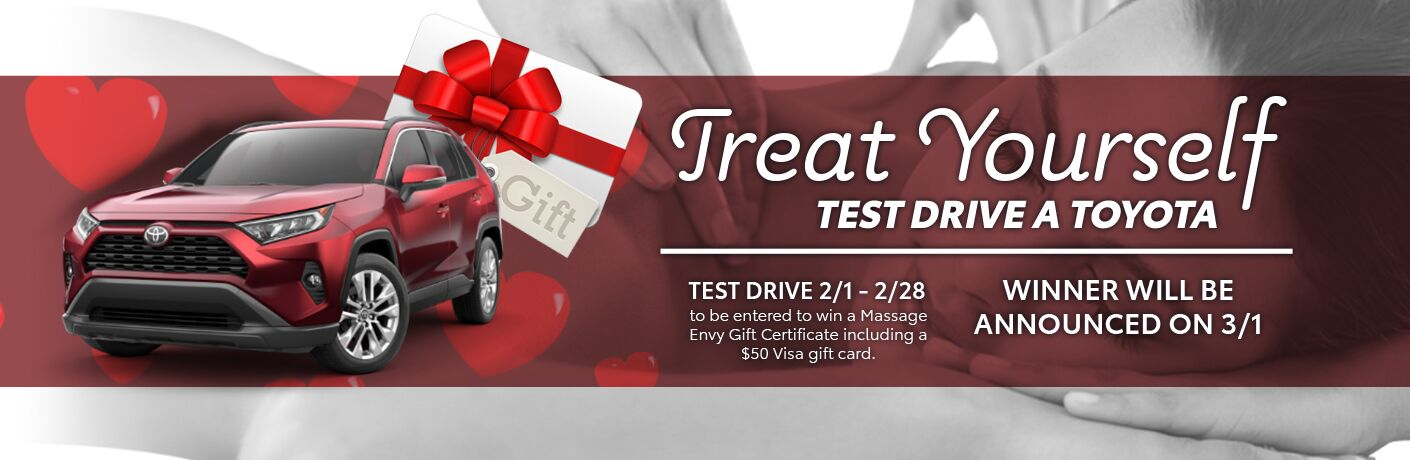 treat yourself and test drive special