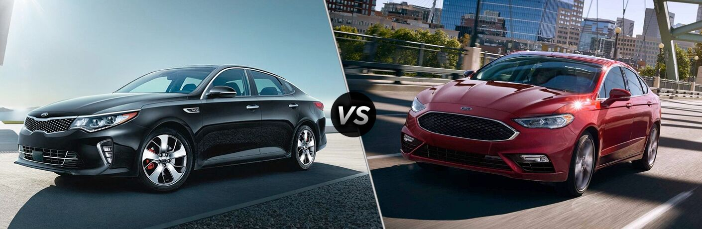 2018 kia optima vs 2018 ford fusion