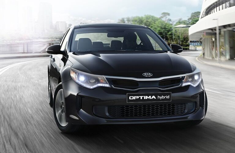Kia Optima front profile