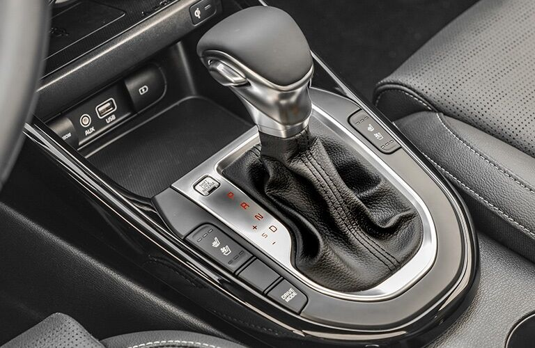 Shift knob in the 2020 Kia Forte