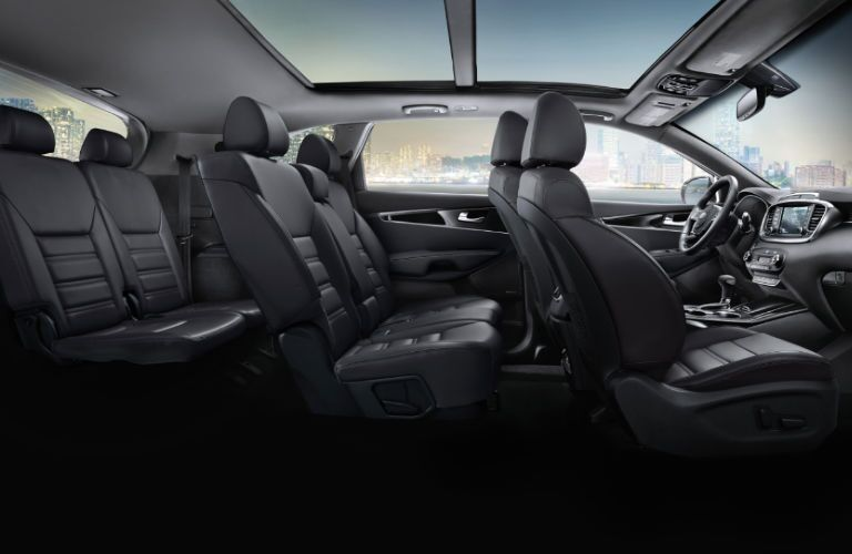 2020 Kia Sorento passenger seats