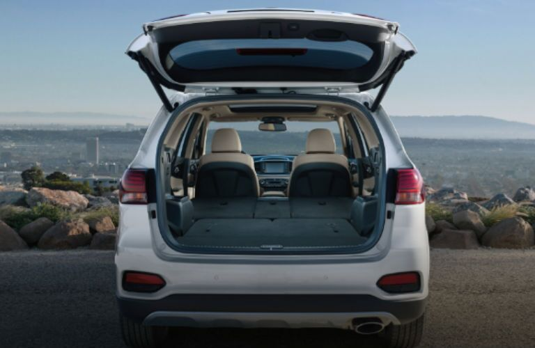 2020 Kia Sorento rear cargo area
