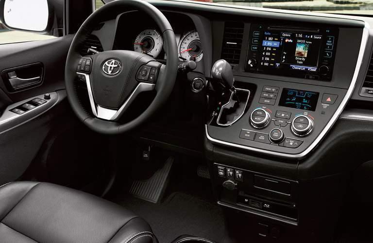2017 Toyota Sienna safety features