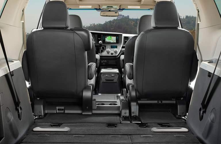 2017 Toyota Sienna interior features