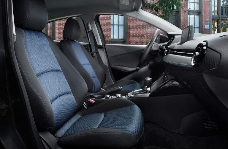 Sport-contoured seats inside 2018 Toyota Yaris iA
