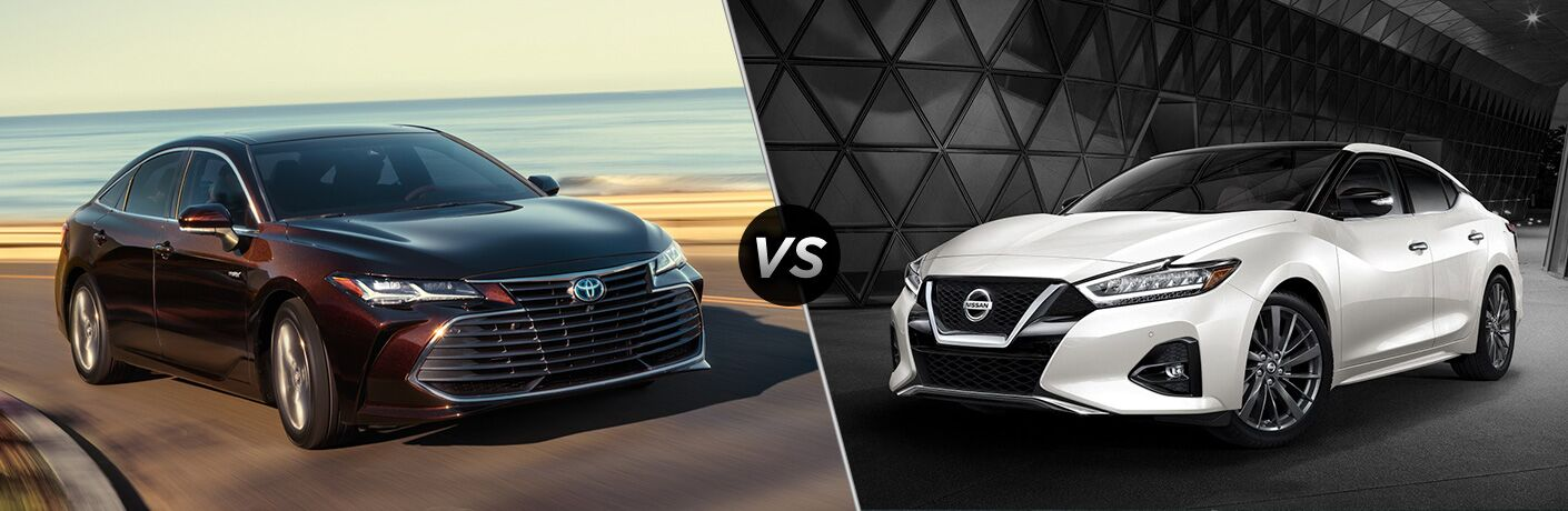2019 Toyota Avalon vs 2019 Nissan Maxima
