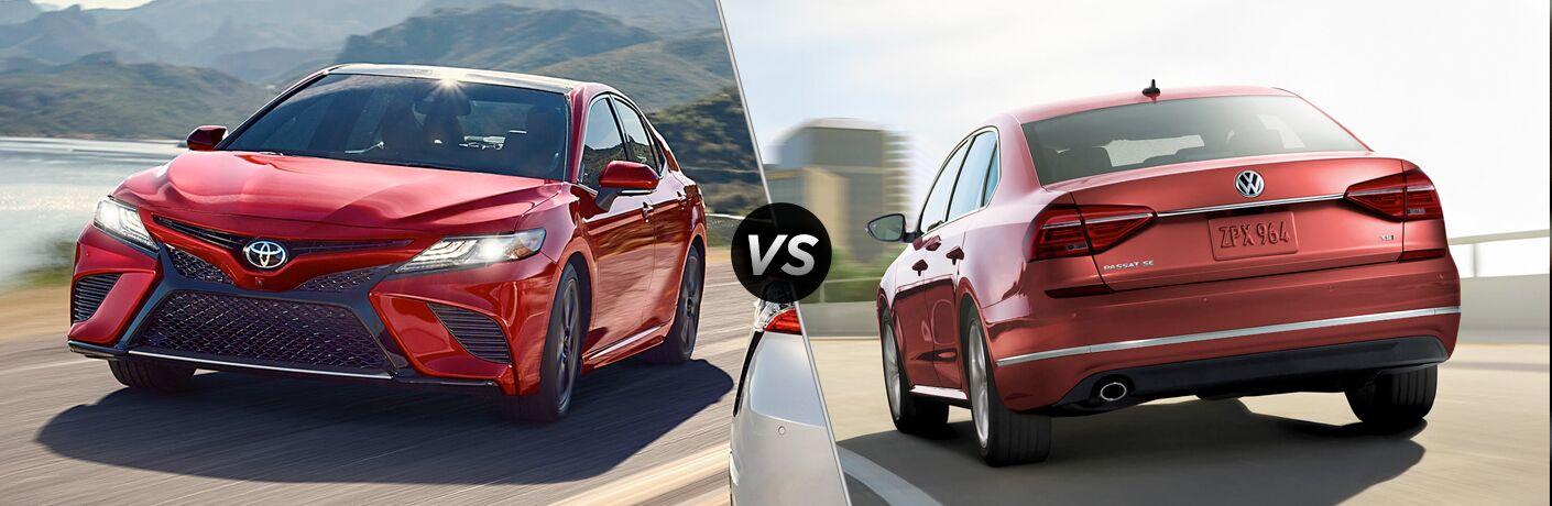 2019 Toyota Camry vs 2018 Volkswagen Passat