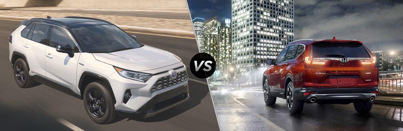 2019 Toyota RAV4 vs 2018 Honda CR-V