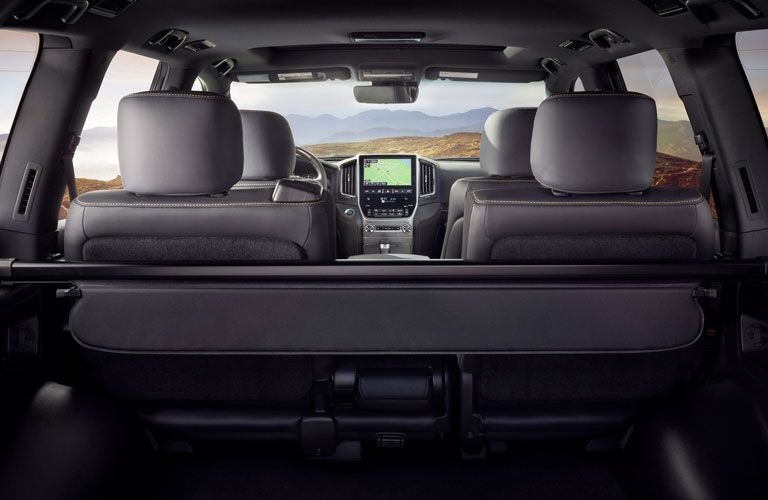 interior view in the 2020 Toyota Land Cruiser