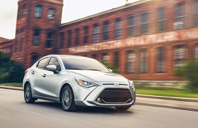 front view of the 2020 Toyota Yaris