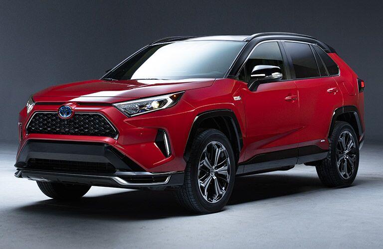 red 2021 Toyota RAV4 Prime