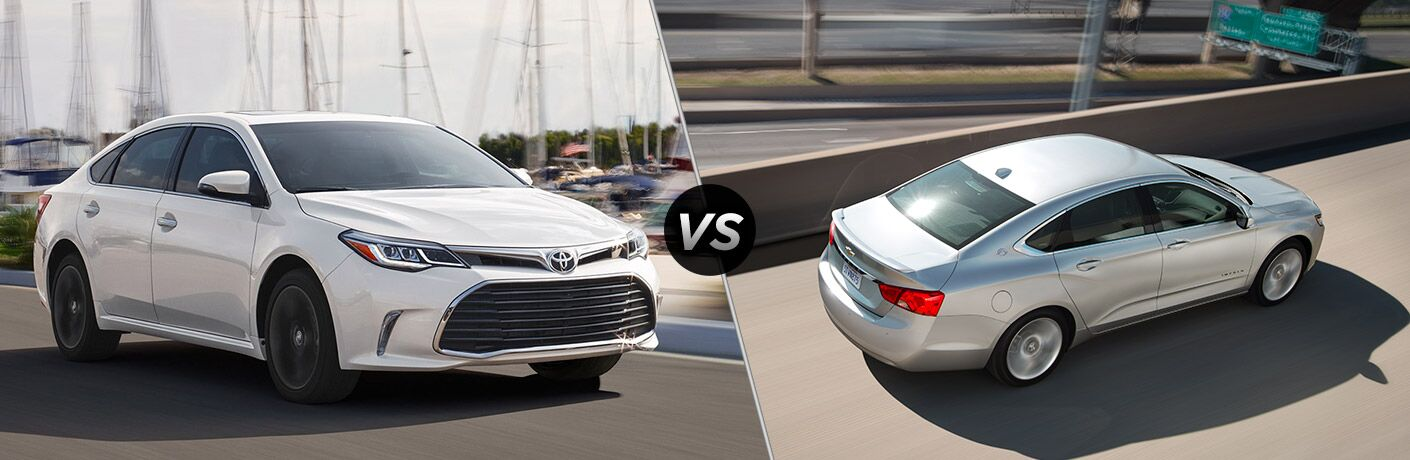 2018 avalon compared to 2018 impala
