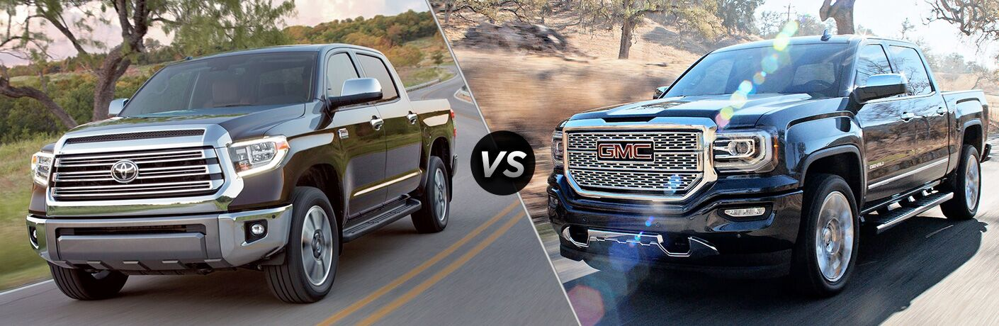 2018 tundra compared to 2018 sierra 1500