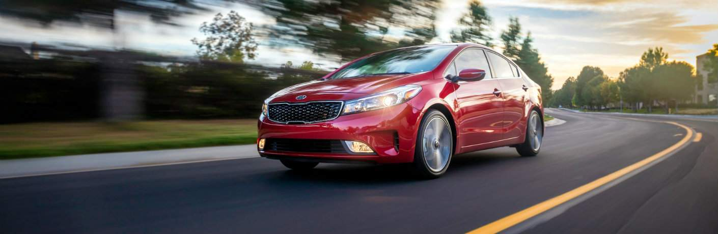 2018 kia forte currant red