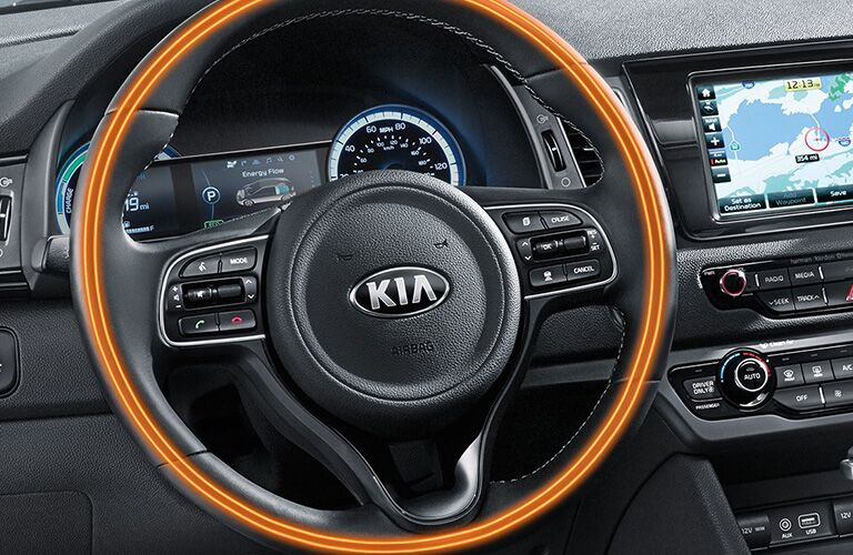 kia niro steering wheel