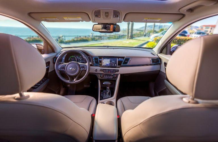 2020 Kia Niro Plug-In Hybrid Front Seat Interior