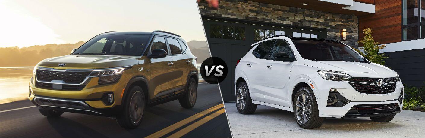 2021 Kia Seltos vs 2020 Buick Encore GX