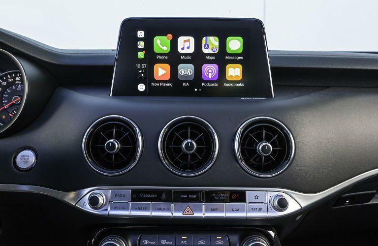 2021 Kia Stinger Touchscreen Display