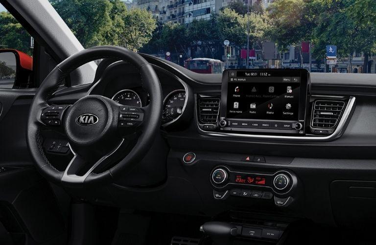 2021 Kia Rio Steering Wheel and Dashboard