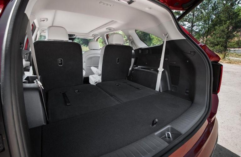 2021 Kia Sorento Hybrid Rear Cargo Space with Seats Laid Flat