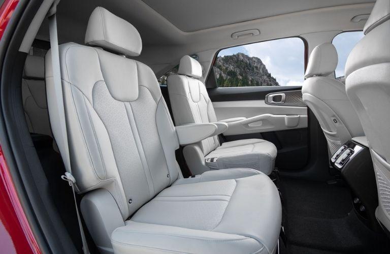 2021 Kia Sorento Hybrid Second-Row Captain's Chairs