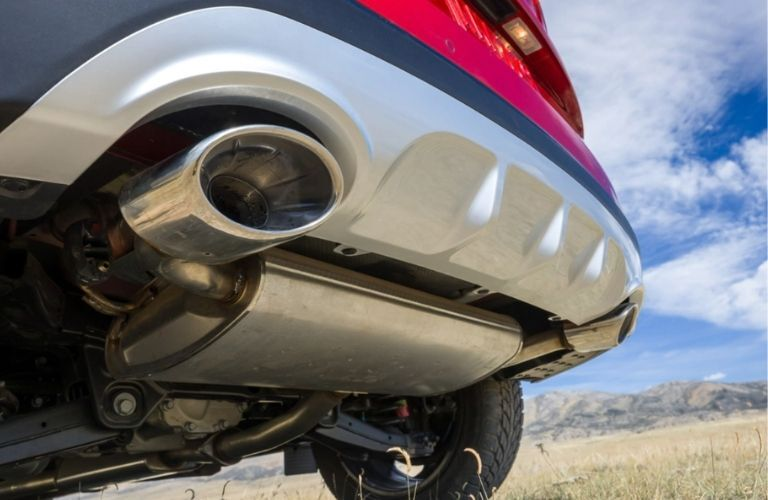 2022 Kia Sportage Exhaust