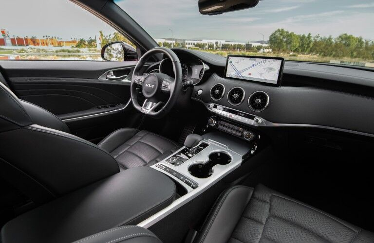 The 2022 Kia Stinger offers some impressive technology.