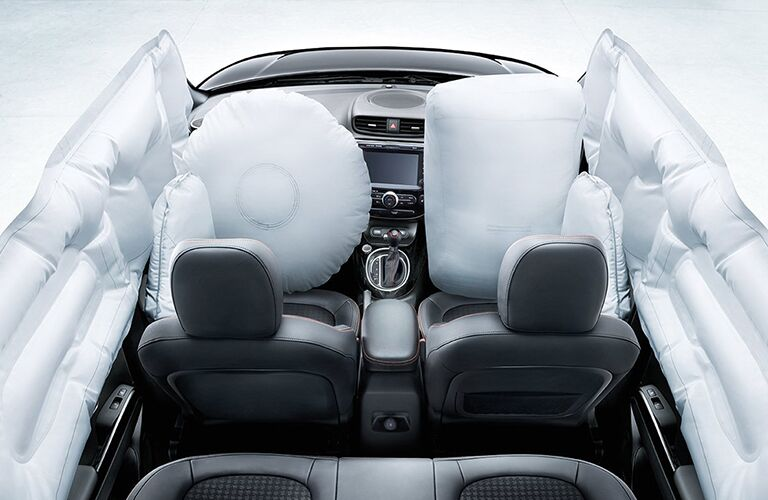 2018 Kia Soul with air bags deployed
