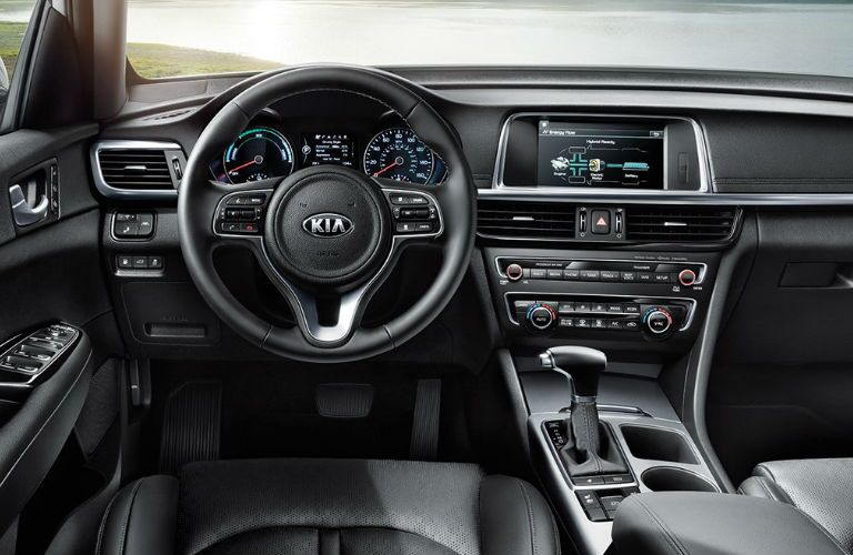 2019 Kia Optima Hybrid dashboard