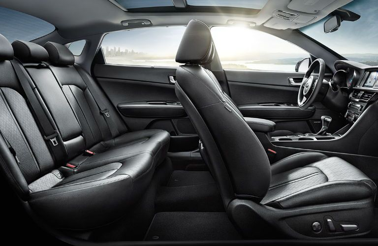2019 Kia Optima Hybrid passenger seats