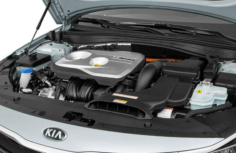 2019 Kia Optima Hybrid engine