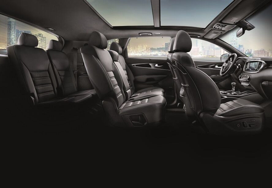 Kia Sorento Interior Seating