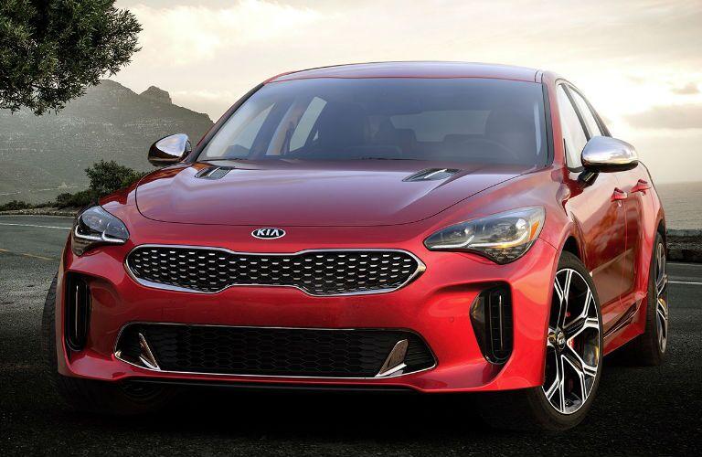 2019 Kia Stinger front profile