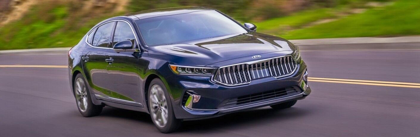 2020 Kia Cadenza driving on a road