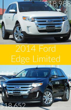 Check out the 2014 Ford Edge Limited
