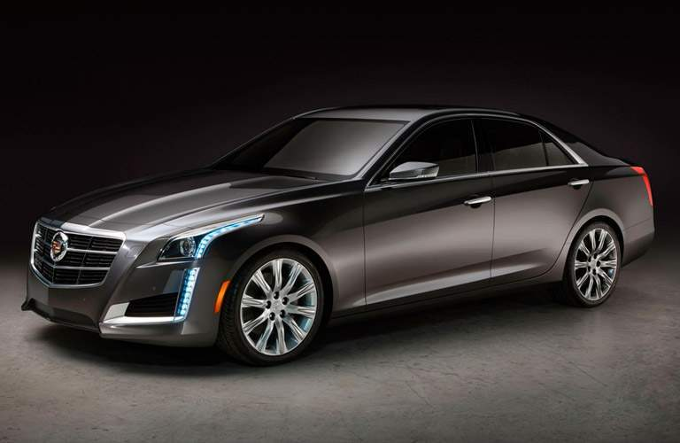 2014 Cadillac CTS Sedan floor room