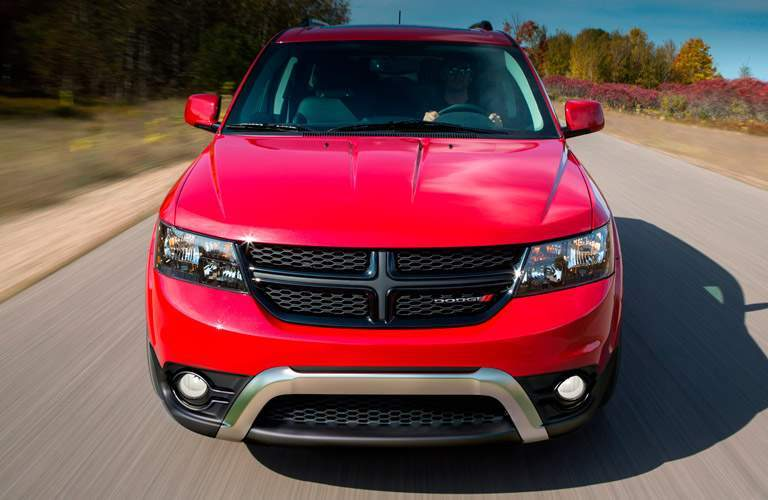 2014 Dodge Journey on the highway