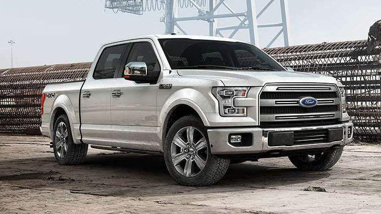 2015 Ford F-150 in Construction Yard