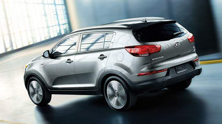 2015 Kia Sportage in store room