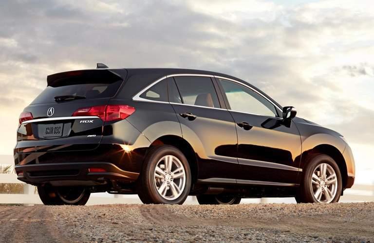 2015 Acura RDX on a dirt road